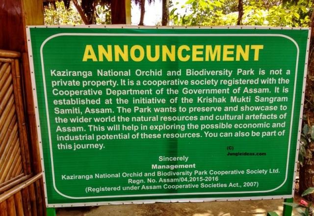 Kaziranga Orchid Park, Kaziranga National Park, Assam Orchids, Assam Tourism