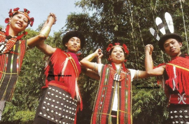 Tribes of Assam, Bodo, Singpho, Moran, Tribes North East India